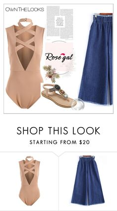 """Rosegal"" by mayabee88 ❤ liked on Polyvore featuring love, rosegal and stayle"