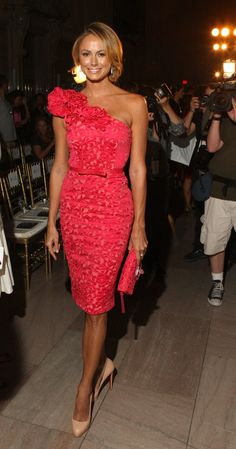 stacy keibler at marchesa spring 2013