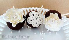 Tutorial: Doily Cake Pops