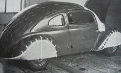 """Fusca Classic: Vw30 - histórias e réplicas.Este veículo naquela época distante foi analisado sua aerodinamica, já que o desenho foi inspirado em conceitos de carros """"strem line"""", como por exemplo o Tatraplan..."""
