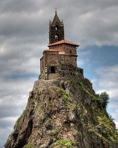 10 Exciting Places That You Must See, Saint Michel D'aiguilhe Chapel, France