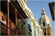 Cartagena, Colombia a city full of history, natural beauty and wonderful people.  Did I say great food?