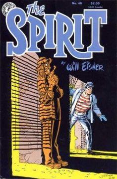 Noirish Spirit cover by Will Eisner
