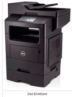 Dell B3465dnf Multifunction Laser Printer Driver Download