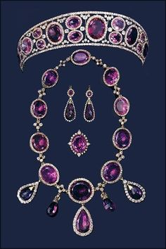 Amethyst Parure of Queen Mary of Great Britain