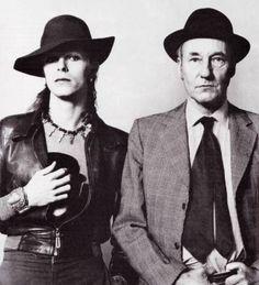 Bowie met Burroughs