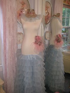 Vintage millinery dress form by mylulabelles, via Flickr