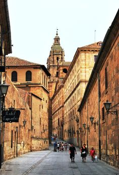 Salamanca, Castilla y Leon, Spain, by so many pictures here.so nostalgic! The Places Youll Go, Places To See, Travel Around The World, Around The Worlds, Spain And Portugal, Aragon, Spain Travel, Wonders Of The World, Places To Travel