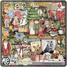 A hand-painted Christmas Themed Collab by mle Card & Dawn Inskip.