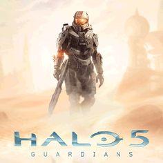 Halo 5 Guardians - Master Chief/ Spartan Locke gif