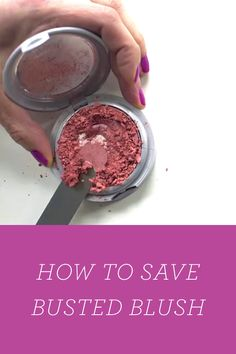 How to Fix a Broken Makeup Compact via @PureWow