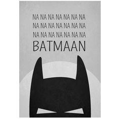Batman poster 30 x 40 cm, Wiho design Batgirl, Catwoman, Héros Dc Comics, Batman Comics, Batman Bedroom, Nananana Batman, Nerd, Batman Party, Batman Birthday