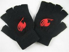 Vicwin-One Fairy Tail Red Logo Gloves Cosplay *** Check this awesome product by going to the link at the image.