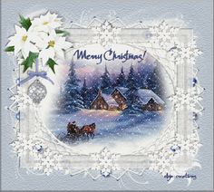 Christmas - Page 59 Christmas Scenes, Cozy Christmas, Merry Christmas And Happy New Year, Christmas Pictures, Christmas Time, Christmas Crafts, Christmas Decorations, Merry Xmas, Vintage Christmas Cards