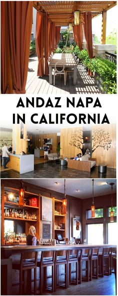 The guest rooms at Andaz Napa are spacious and luxurious. One of the top hotels to stay when visiting Napa, California