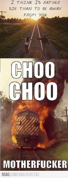 Cho Cho Motherfucker!