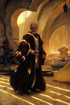 Old Ben Kenobi - Donato Giancola