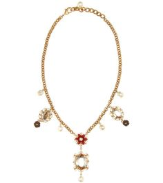 DOLCE & GABBANA Exclusive To Mytheresa.Com – Embellished Necklace. #dolcegabbana #jewellery