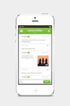Designer Gives 'WhatsApp' A Sleek New Look - DesignTAXI.com