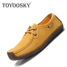 2017 summer women casual shoes cowhile leather flats shoes women oxfords for women moccasins ladies shoes women boat shoes #jewelry, #women, #men, #hats, #watches