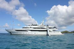 Silver Angel is a 211-foot Benetti yacht chartered through Camper & Nicholsons International.