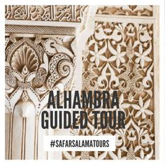 Skip-the-Line Alhambra & Generalife Gardens Guided Tour 📸  Discover the impressive #Alhambra Palace of Granada, the extraordinary Generalife Gardens and the Nasrid Palaces (if option selected) with an expert guide. #Granada #Andalusia #Spain