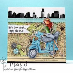 Life's too short by maryj68 - Cards and Paper Crafts at Splitcoaststampers