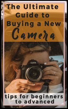 The Ultimate Guide to Buying a New Camera (Beginning to Intermediate). So you've decided to buy a new camera! First, congrats! It's an awesome investment and one that has been quite a long time coming for me. Buying a DSLR or mirrorless camera can quickly feel daunting and overwhelming. There are so many options and extra bells and whistles. What kind of camera is the best? #camera #photography #dslr