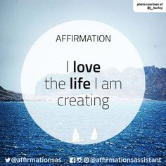 #mindset & #affirmations will help you reach your goals. I love the life I am creating.