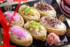 Maggi 3色いなり寿司