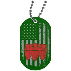 American Conga Dog Tag