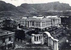 Old Pictures, Old Photos, Vintage Photos, Cities In Africa, Most Beautiful Cities, African History, Cape Town, Old Houses, South Africa