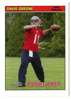David Greene RC # 178 - 2005 Topps Baz Football NFL Rookie