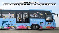 Beberapa Bus Jakarta Seperti Anak - Anak