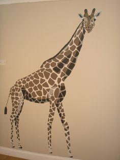 Someday, I Will Have A Giraffe Mural! A GiraffeWallpaper IdeasI ...
