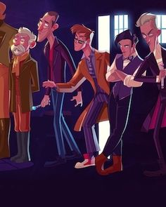 DOCTOR WHO Reimagined as an Animated Disney Movie