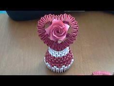 How to make a 3D Origami Lantern | DIY Paper Lantern Tutorial, Paper Lamp | Tran Nga 3D Origami - YouTube
