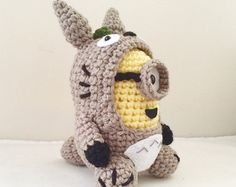 The Flash Minion PDF Pattern Crochet for Amigurumi by JAMigurumi
