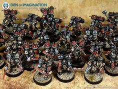 Warhammer 40k Blood Angels, Warhammer 30k, Warhammer 40k Miniatures, Painting Services, Painters, Marines, Angles, Poland, Den
