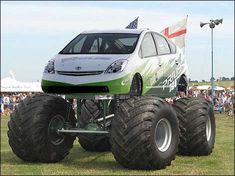 real Ford Monster trucks