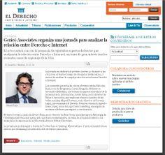 El portal de actualidad jurídica del grupo editorial Francis Lefebvre, El Derecho, también se hizo eco de la celebración del 'Internet Law' en Barcelona.