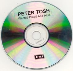 peter tosh , wanted dread and alive advance cd