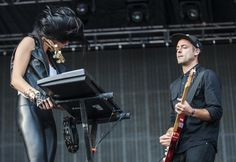 ACL Live Shot: Phantogram: Duo fuses Beatles and Bowie to Prince and J Dilla - Music - The Austin Chronicle