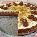 Banánovo-nutelový cheesecake