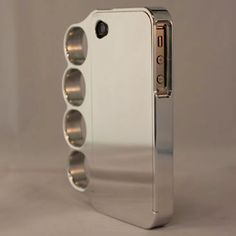 "Brass Knuckles iPhone Case ?!? ...things that make you say, ""Hmmm...."""