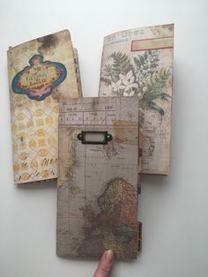 Travelers notebook junk journals