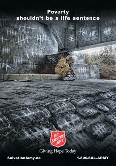 The Salvation Army: Bridge | #ads #marketing #creative #werbung #print #poster #advertising #campaign < found on www.adsoftheworld.com pinned by www.BlickeDeeler.de | Follow us on www.facebook.com/blickedeeler