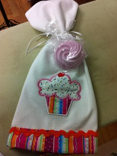 Gift sets with handmade soap and embroidered towel