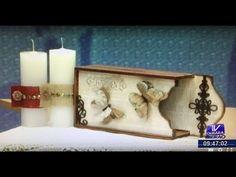 Programa Artesanato sem Segredo (09/11/15) - Efeito madeira