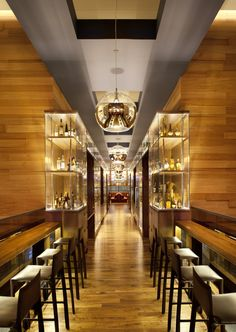 OneUP Restaurant at the Grand Hyatt Union Square,  San Francisco by CSS Architecture